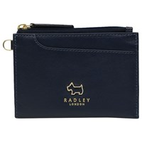 Radley Pockets Leather Small Coin Purse Ink