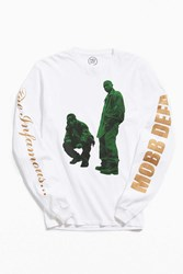Urban Outfitters Mobb Deep Long Sleeve Tee White