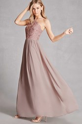 Forever 21 Soieblu Tulle Maxi Dress
