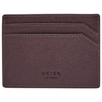 Reiss Jacob Grained Leather Card Holder