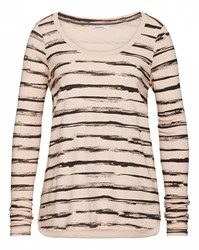 Sandwich Painted Stripe T Shirt Multi Coloured