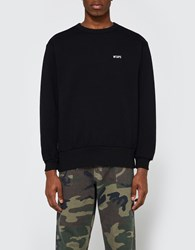Wtaps Cross Bones Crewneck 04 Sweatshirt Black
