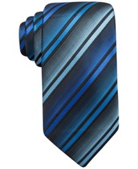John Ashford Barrett Stripe Tie Only At Macy's Blue
