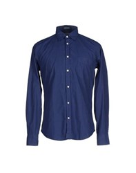 Hartford Shirts Shirts Men Blue