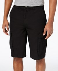 Lrg Men's Cargo Shorts Black