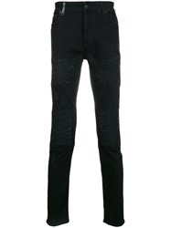 Marcelo Burlon County Of Milan Distressed Jeans Black