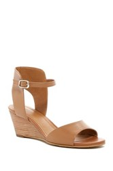 14Th And Union Tansie Wedge Sandal Brown