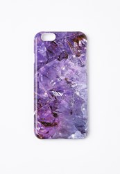 Missguided Purple Crystal Effect Iphone 6 Case