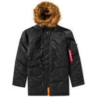 Alpha Industries N3b Vf 59 Jacket Black