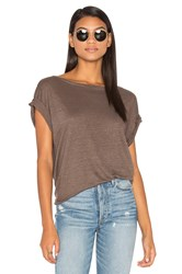 Cp Shades Ellery Off Shoulder Tee Taupe