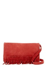 Liebeskind Lavina Suede Crossbody Red