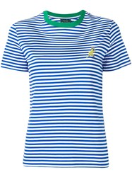 Paul Smith Ps By Striped T Shirt Blue