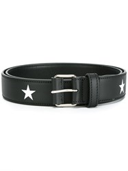 Givenchy Star Print Belt Black