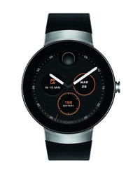 Movado 46.5Mm Connect Smartwatch Black