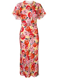Rebecca Vallance Blume Floral Print Dress 60