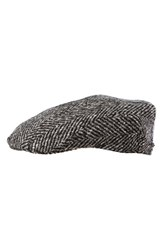 Men's Stetson 'Modesto' Driving Cap Black