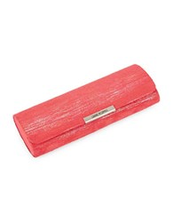 Corinne Mccormack Sueded Oval Glasses Case Red