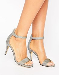 Oasis Metallic Barely There Sandals Gold