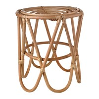 Pols Potten Rattan Paperclip Stool Natural
