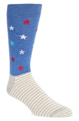 Happy Socks Men's Stripes And Stars
