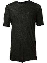 Boris Bidjan Saberi Short Sleeve T Shirt Black