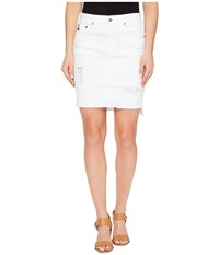 Ag Adriano Goldschmied Erin Skirt In White Intuition White Intuition Women's Skirt
