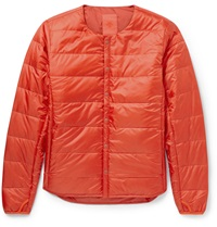 Descente H.C.S. Quilted Shell Down Jacket Red
