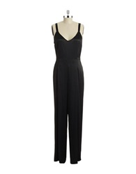 Tracy Reese Sleeveless Jumpsuit Black