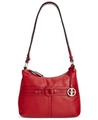 Giani Bernini Covered Ring Nappa Leather Hobo Only At Macy's
