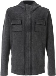 Osklen Recycled Utilitarian Jacket Grey