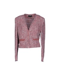 Diana Gallesi Suits And Jackets Blazers Women Red