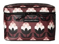 Petunia Pickle Bottom Glazed Travel Train Case Tuscan Twilight Wallet Brown