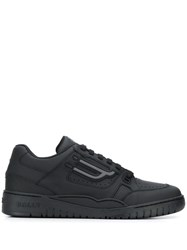 Bally Champion Low Top Sneakers Black