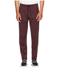 Belstaff Cambrose Technical Poly Cotton Interlock Track Pants Dark Amarone Casual Pants Brown