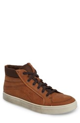Ecco 'S Kyle Sneaker Amber Leather