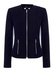Episode Classic Blazer With Zip Pockets Navy