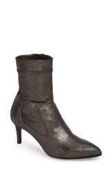 Pedro Garcia Pointy Toe Bootie Anthracite Powder