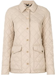 Burberry 'Westbridge' Quilted Jacket Women Cotton Polyester M Brown
