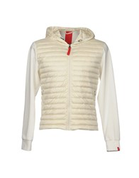 313 Tre Uno Tre Down Jackets Ivory