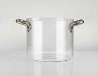 Glass Pasta Pot Knpro Massimo Castagna For Knindustrie Owo Online Design Store Italy