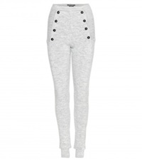 Isabel Marant Axton Wool Blend Trousers Grey