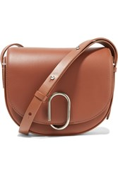3.1 Phillip Lim Alix Saddle Leather Shoulder Bag Brown