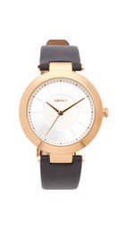Dkny Stanhope Watch Gold Black
