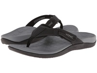 Vionic With Orthaheel Technology Ryder Black Grey Men's Sandals