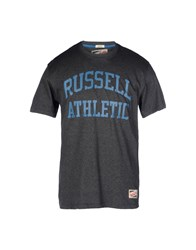 Russell Athletic Topwear T Shirts Men Lead
