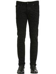 Diesel Black Gold 17Cm Destroyed Cotton Denim Jeans
