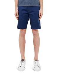 Ted Baker Chino Shorts Dark Blue