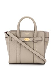 Mulberry Bayswater Small Shoulder Bag Grey