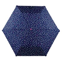 Radley Dog Dot Print Umbrella Navy Multi