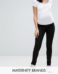 Mama Licious Mamalicious Over The Bump Juliane Skinny Jean Black